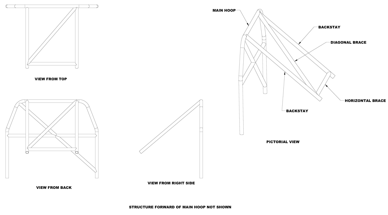 Rear Shock Tower Brace Diagram